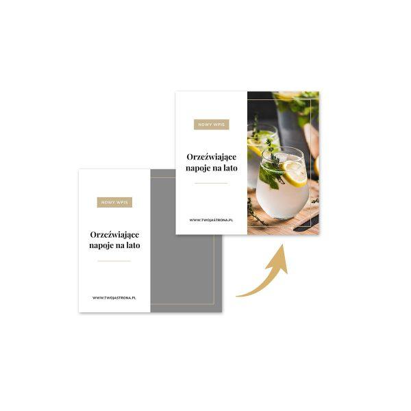 Klasyczna MINI paczka - pakiet 8 szablonów